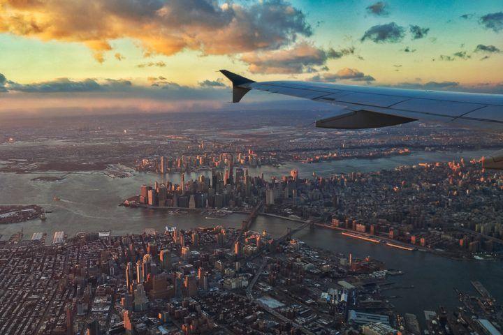 Dónde buscar pasajes aéreos baratos para New York