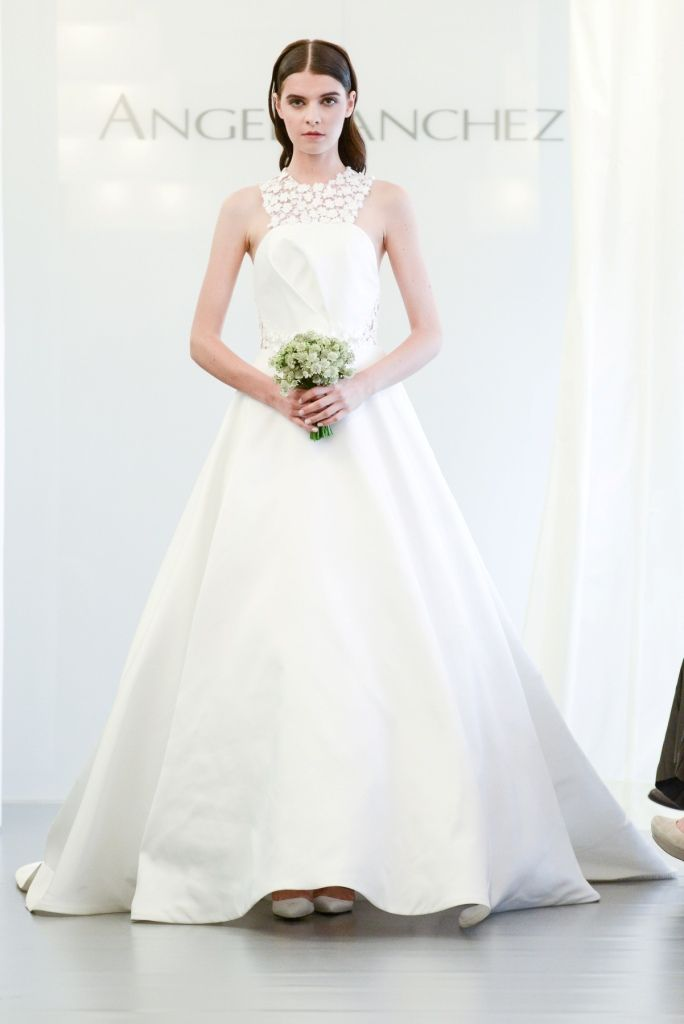 Angel Sanchez Wedding Dresses. See the full Bridal Collection for 2015 http://www.dressforthewedding.com/angel-sanchez-wedding-gowns-fall-2015/