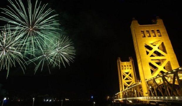 Celebrating New Years Eve 2015 in Sacramento