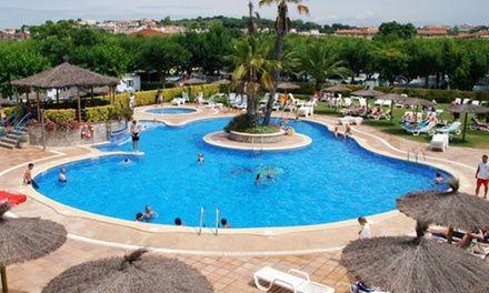 Costa Brava : 7 nuits en bord de mer au Camping La Masia avec piscines et accès à l'espace aquatique pour 6 personnes: #BLANES En promotion…