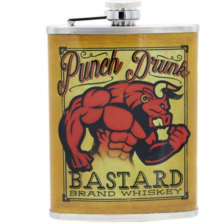 Apporté vos boissons favorites avec ce flasque à l'allure joyeuse de 250ml .
