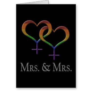 Frau und Frau Lesbian Pride Grußkarte                                                                                                                                                                                 Mehr