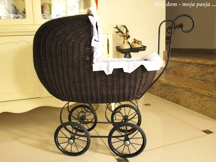 retro pram, renovation, vintage, girl room, decor