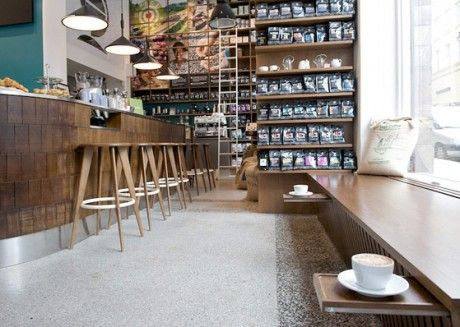 johan & nostrums coffee and tea shop in stockholm designed by note.