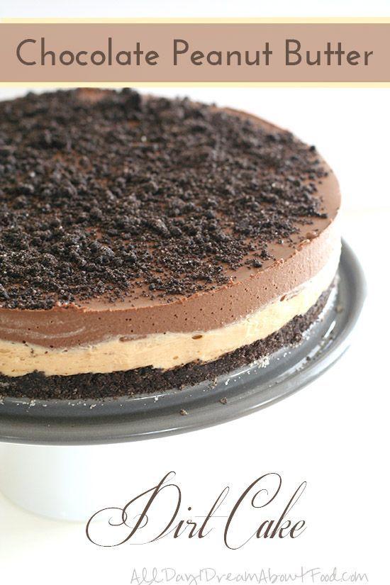 Low Carb Gluten-Free Chocolate Peanut Butter Dirt Cake Recipe