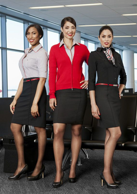 Virgin America's New Uniforms Include Pieces We Would Actually Wear