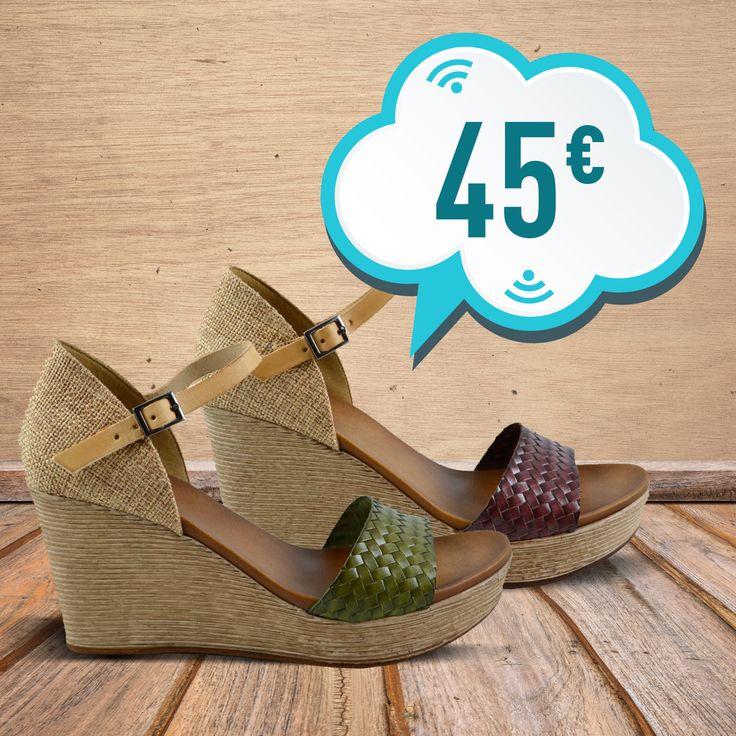 Nuevas #sandalias Porronet Shoes en kaki o tierra. ¡Ganas de verano! 👉