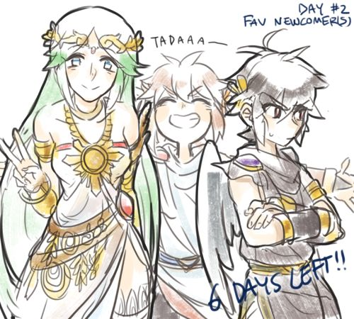 17 Best Images About Kid Icarus