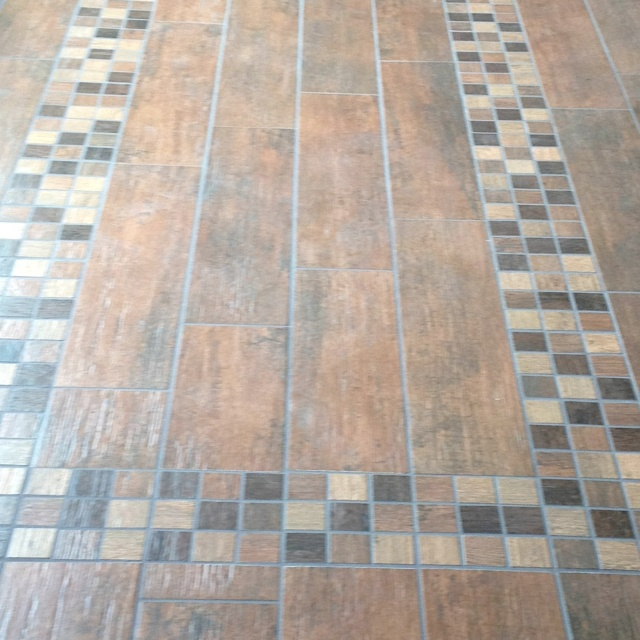 New Tile Floor Dog Proof!