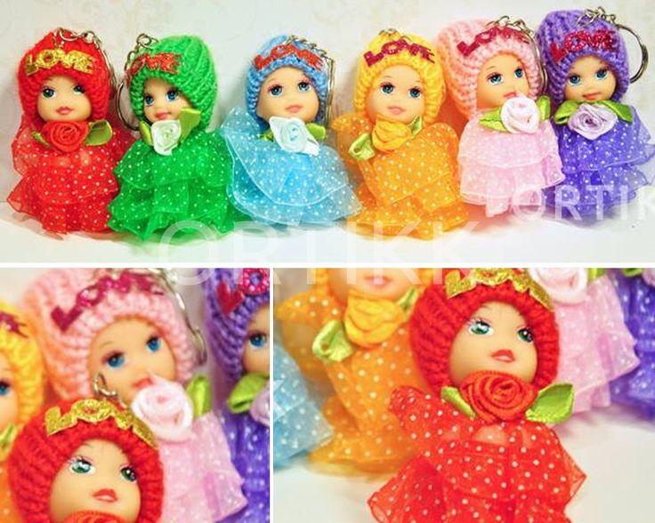 Mini laleczka, idealna na mały upominek lub do exploding boxa. #lalka #laleczka #doll #girl #baby #toy #mini #miniature #gift #child #prezent #explodingbox #ortikk