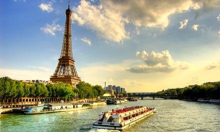Hôtel Le Dauphin à Puteaux : Escapade romantique à Paris, croisière sur la Seine incluse: #PUTEAUX 49.00€ au lieu de 122.00€ (60% de…