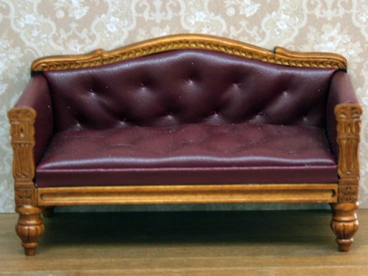Dolls House Sofa from The Wonham Collection. R0439.