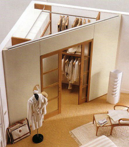 Progetta la tua cabina armadio