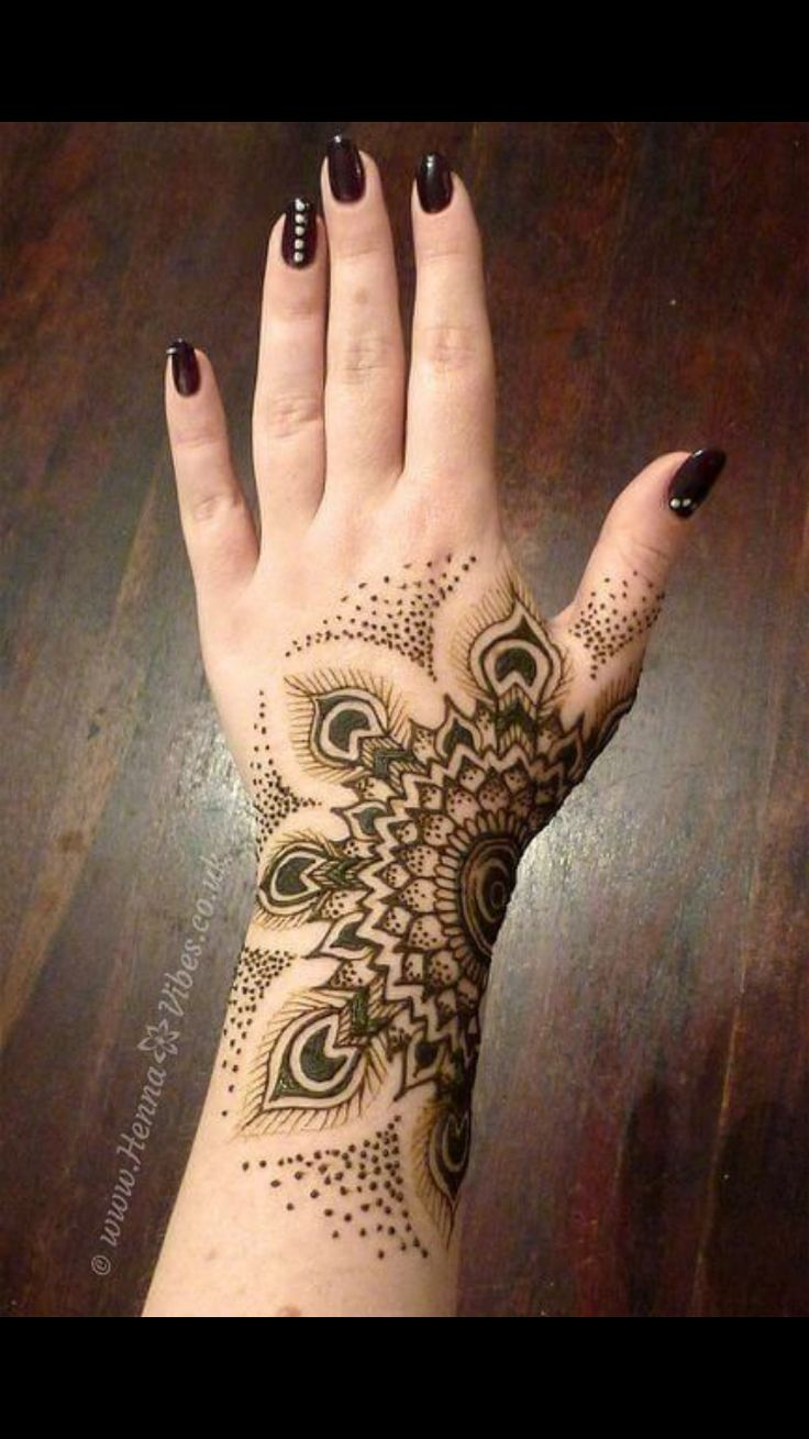 Cool Henna Tattoos: The Art Of Henna (called Mehndi In Hindi & Urdu) Has Been