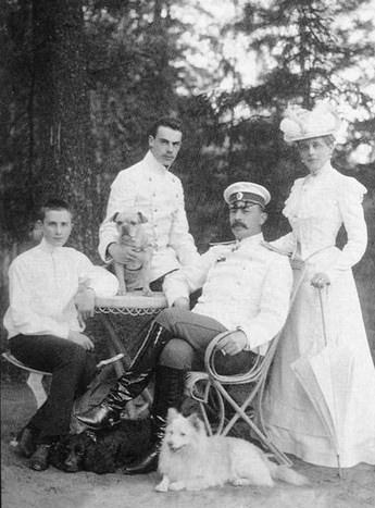 The Youssoupoff's. Felix, Nicholas, Felix Sr, and Zenaide