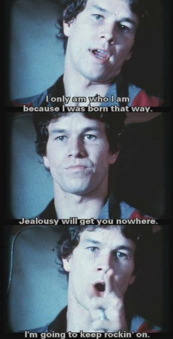 Oh Dirk Diggler,Your Such A Stud!  #MarkyMark #Mark Wahlberg #BoogieNights  ★