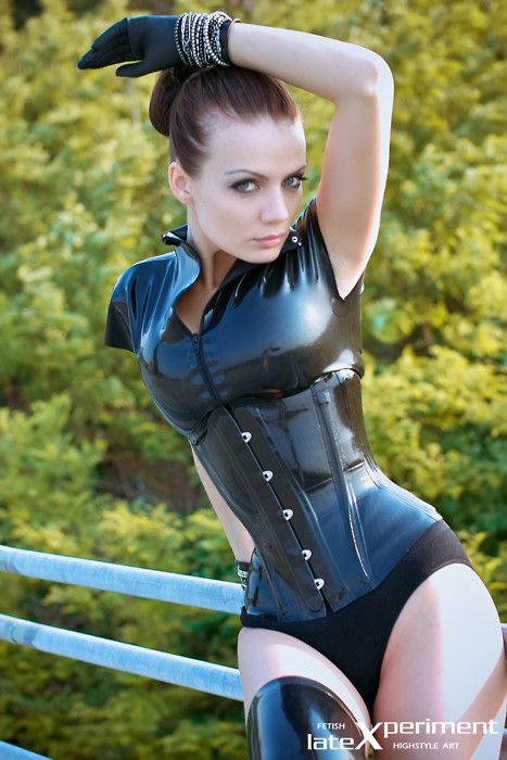 tight rubber corset ( Get your goth on with gothic punk clothing - a favorite repin of www.vipfashionaustralia.com )