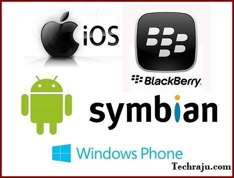 Top 5 Most Popular Mobile/Smartphone Operating Systems(OS)