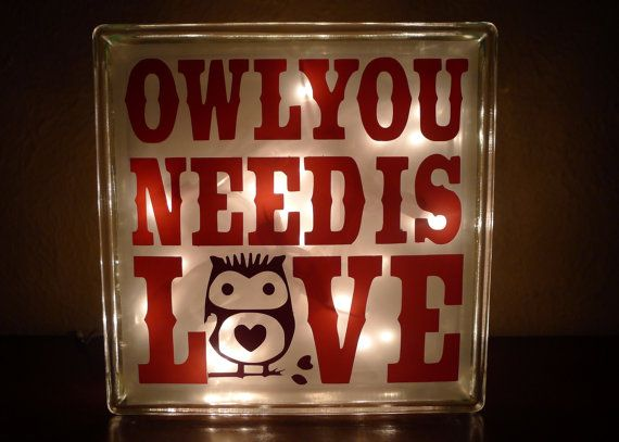 Owl You Need Is Love: A portion of every purchase through this link supports charity.