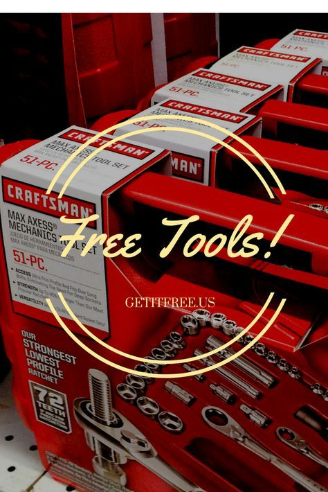 Our Warehouse is FULL! These FREE Craftsman Tool Samples Must Go! Once they're gone, they're gone! Sign up today for freebies so good you will feel guilty not paying for them! No credit card or purchase necessary.