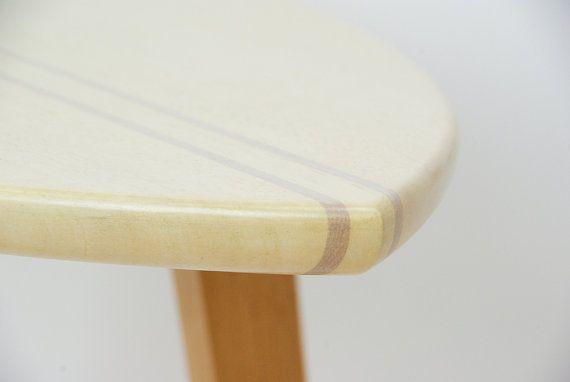 Surfboard salontafel / hout surfplank tabel / surfplank kant