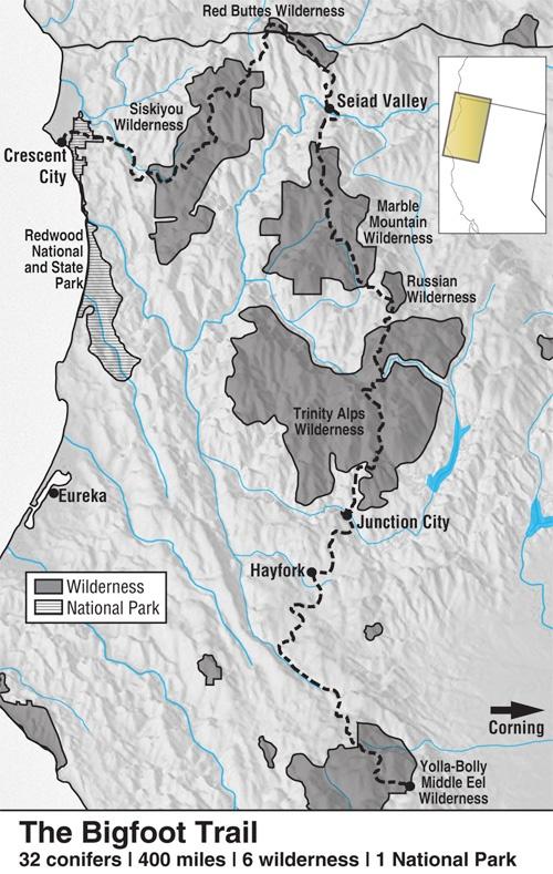 Thru-hike the Bigfoot Trail - 400 Miles
