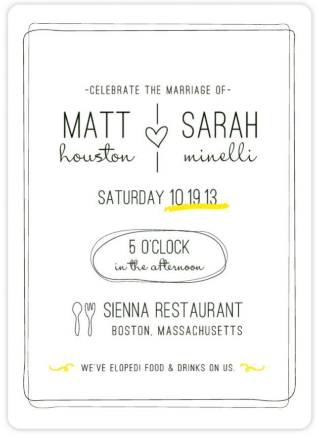 45 best Wedding Invites images on Pinterest Invitations - fresh invitation wording reception