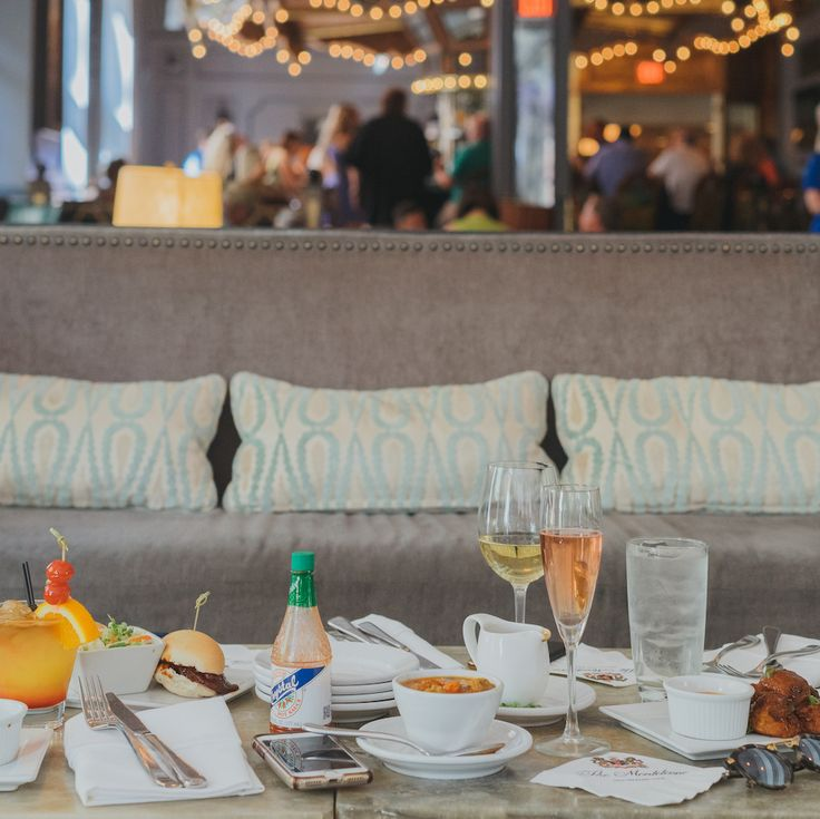 The Carousel Bar & Lounge has bites to share as you sip and socialize.