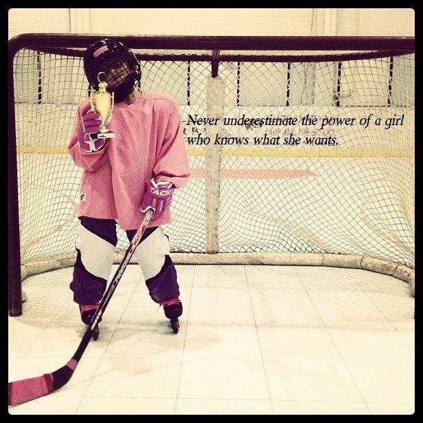 Female Ice Hockey Quotes. QuotesGram by @quotesgram