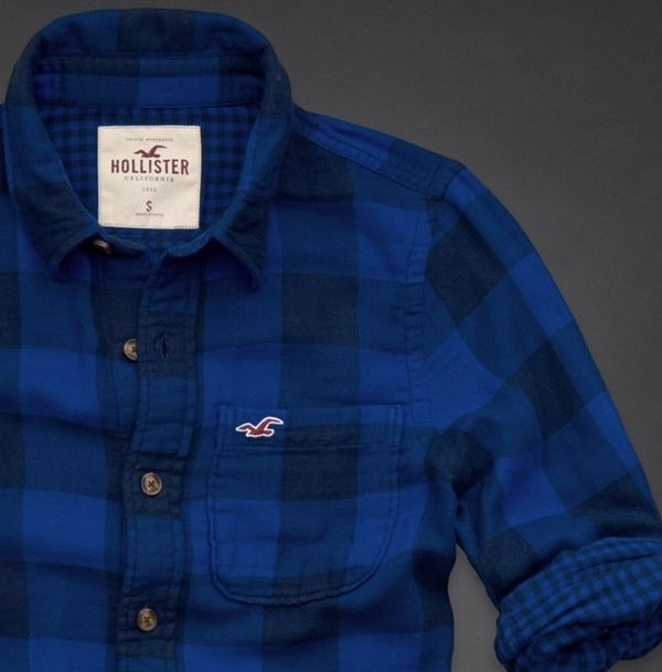 hollister shirts for men blue - photo #10