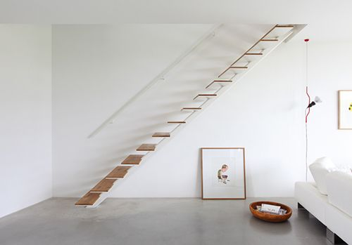 Best Suspended Stairs Wooden Stairs Minimal Stair 400 x 300