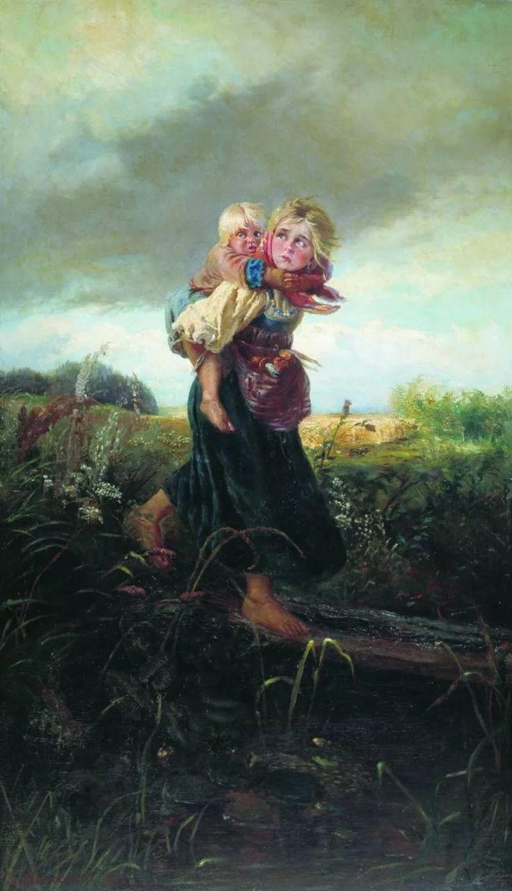 Картина гроза серов