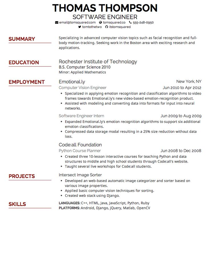 64 best resume images on pinterest