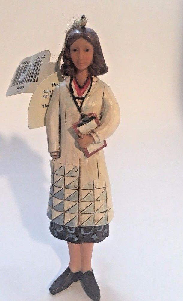 Jim Shore Doctor Ornament Female Doctor Enesco New w/Tags Retired 4010858