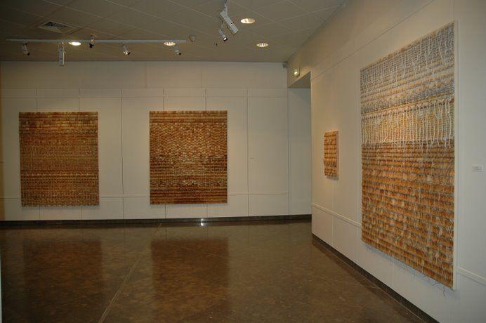used tea bag #wall #art