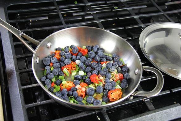 Blueberry Trinidad Moruga Scorpion Peppersauce Recipe (Moruga Scorpion hot sauce). | CaribbeanPot.com