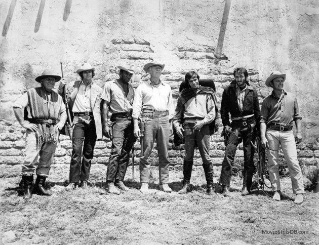 Guns of the Magnificent Seven - Publicity still of Joe Don Baker, George Kennedy, James Whitmore, Reni Santoni, Bernie Casey & Monte Markham