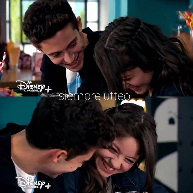 Die zwei sind einfach so verdammt süß als Paar #lutteo #ruggarol #soyluna #soyluna2 #soylunalive @karolsevillaofc @ruggeropasquarelli