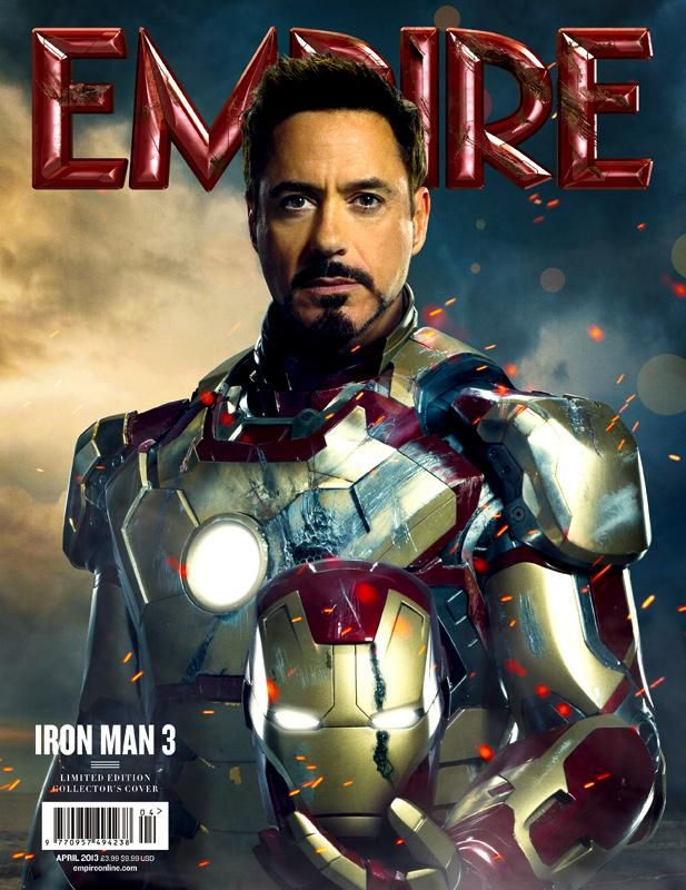 Iron Man 3 Cover Poster For Empire Magazine