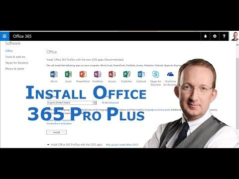 *Office 365 from Scratch – Install Office 365 Pro Plus* In this demo in the Office 365 from Scratch series Peter Kalmström, shows how to install the Office desktop applications. Also refer to http://kalmstrom.com/Tips/Office-365-Course/Installing-Office-365-Pro-Plus.htm