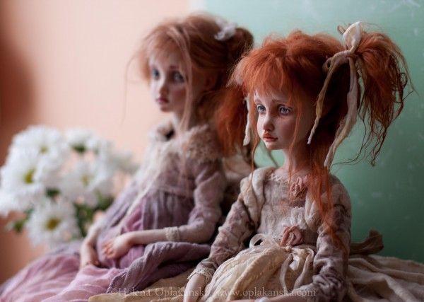 Авторская кукла Елены Оплаканской.Dolls Elena Oplakanska