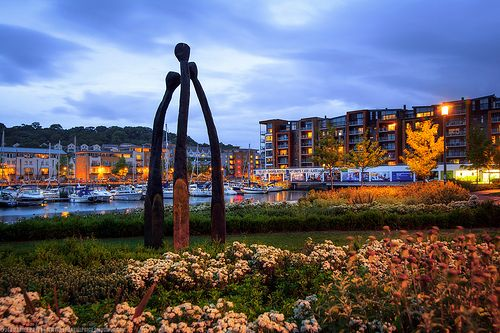 When Shall We Three Meet Again, Portishead Marina, Somerset, England