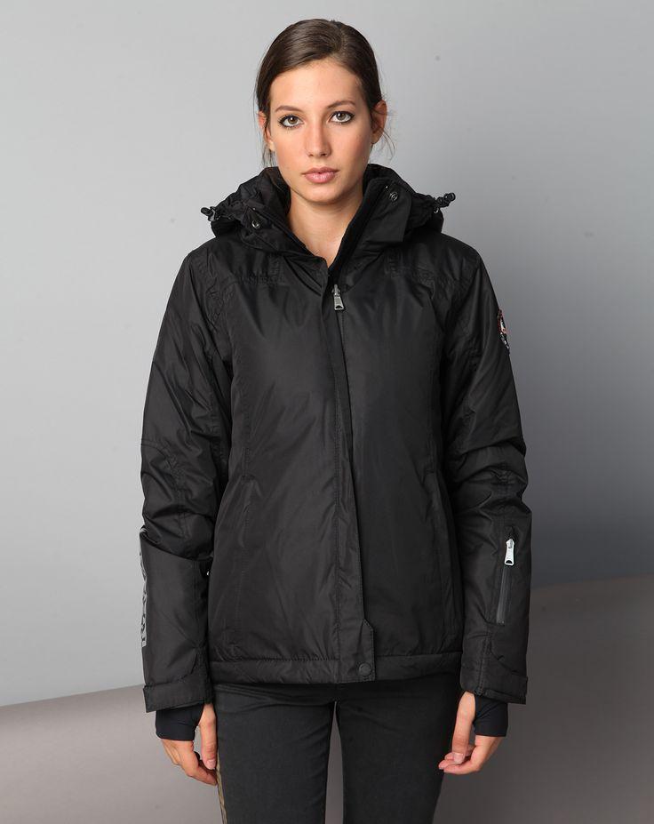 155,00 NAPAPIJRI- Manteau de ski smu chandler noire