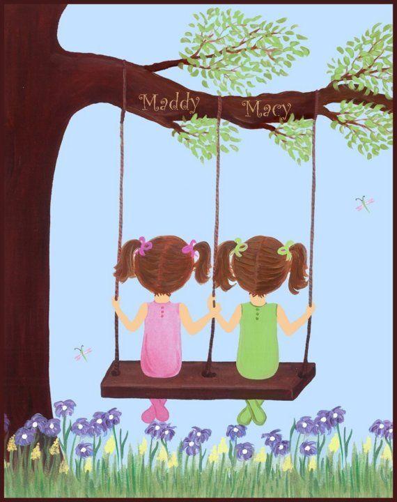 Art for the girls' room