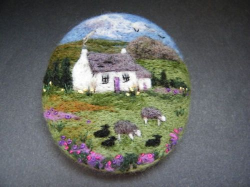 Handmade-needle-felted-brooch-Gift-Herdwick-Cottage-by-Tracey-Dunn