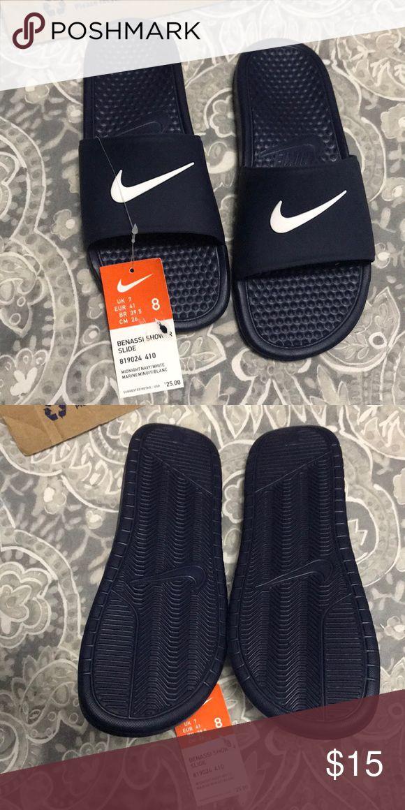 Brand New Nike Mens Sandals Brand New Navy Blue Nike Sandals Nike Shoes Sandals & Flip-Flops
