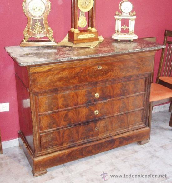 Preciosa c moda y escritorio a la vez siglo xix estilo - Comodas de estilo ...