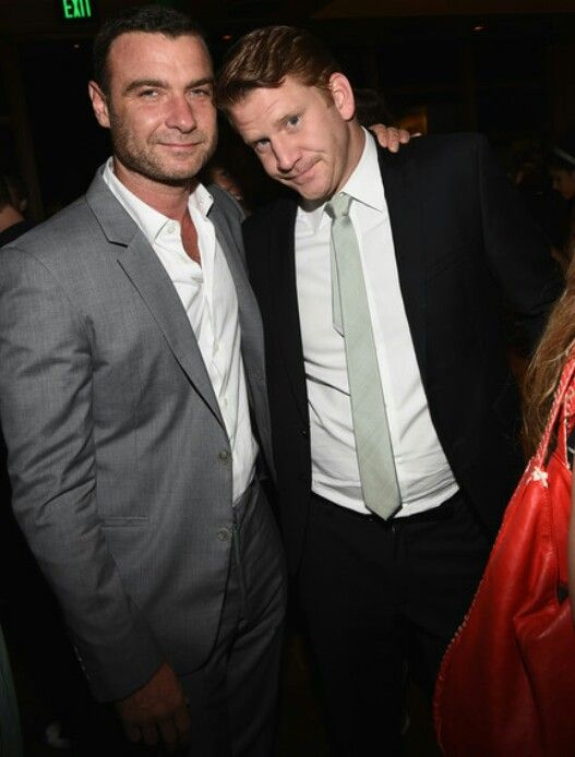 Ray Donovan cast members Liev Schreiber and Dash Mihok