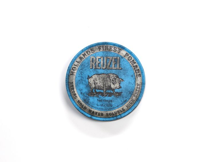 Reuzel Strong Hold Water Soluble High Sheen Pomade 113g.