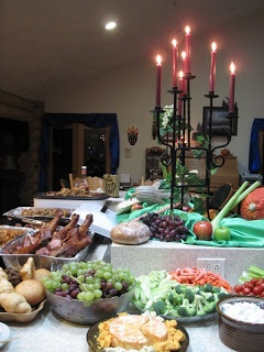 Building It On Pennies: Medieval Times Party Food